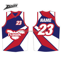 oem quality basketball sublimated uniforms printing tops and shorts