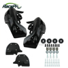 Motorcycle Lower ABS Vented Leg Fairing Set For Harley Davidson Road King Street Electra Glide
