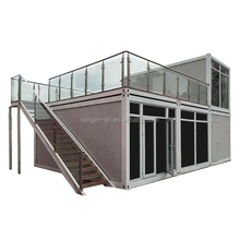 Modular Building Living Container Villa House Prefabricated House with Factory Price