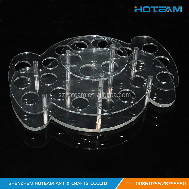 Acrylic Shot Glass Display Stand