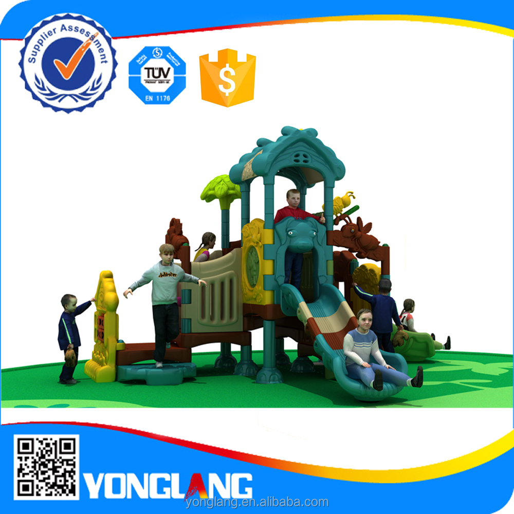 Soft Pirate children parks plastic playground sets for kid play