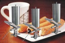 WF3.2L Stainless steel Manual churros filling machine Churros filler Donut dispenser for sale