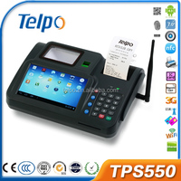 Hot selling TPS550 android Biometrics pos machine with credit card reader