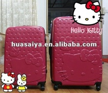2012 hot selling abs luggage bag
