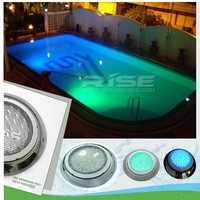CE RoHS approval IP68 RGB remote control led swimming pool lights