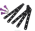 CNC Aluminum Arms and Screw for Gopro HD Hero3+/3/2/1, Black/ Blue/ Green/ Golden/ Red/ Purple/ Pink/ Silver