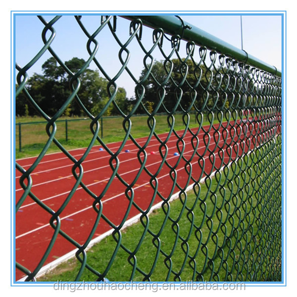 Best price galvanized pvc coated chain link fene from manufacture