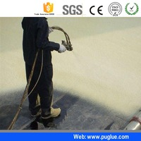 Best Price pu polyurethane spray foam closed cell raw materials for building insulation