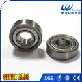 Stainless steel deep groove roller ball S698ZZ bearing with 8*19*6mm