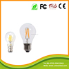 Top consumable dimmable A60 220v e27 b22 2w 4w 6w 8w led filament light from china manufacture
