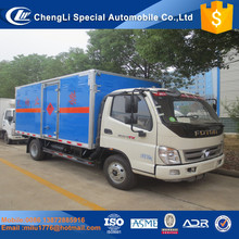 High quality Foton 4*2 4tons small cargo van trucks for sale