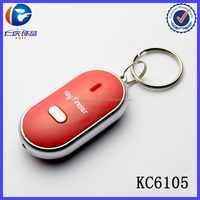 Audio Induction Electronic Flash Alarm Prevention Key Finder Whistle Keychain