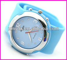 Fashion and Hot sale Slap Silicone watches ice cream jelly watches