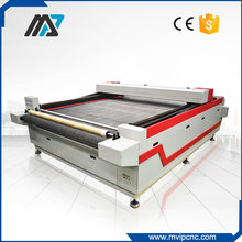 Volumed Fabric Pattern Cutting Machine With CCD Camera Scanner
