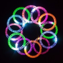 Outdoor Camping LED Bracelet, Party And Concert Favour Flashing Wristband,Wedding Twinkle LED Bangle