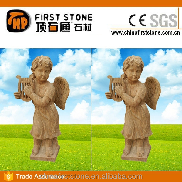 MGP257 Antique Stone Angel Statue