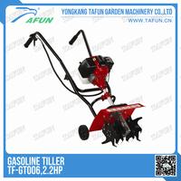 2.2hp garden tiller/small garden tools/mini tiller cultivator
