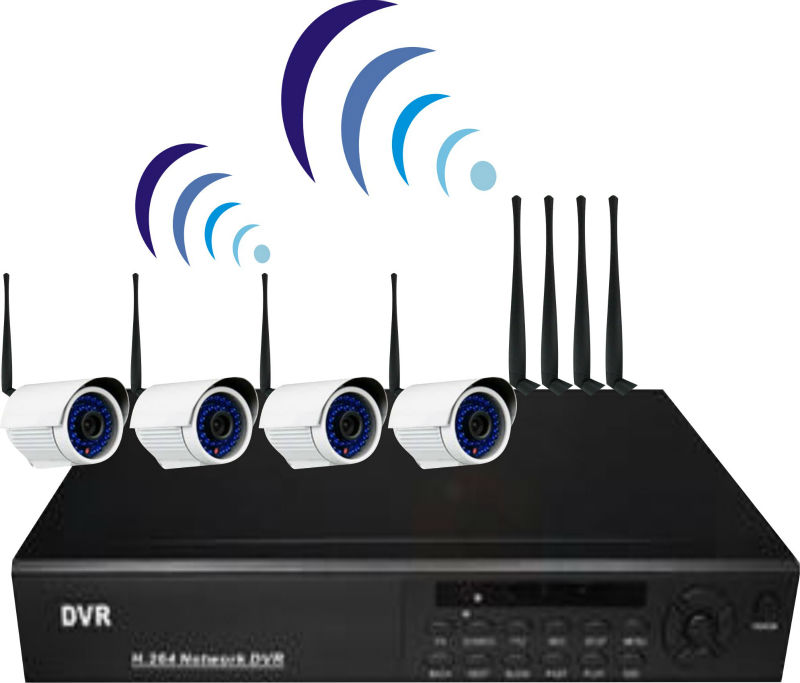 WIRELESS CCTV CAMERA WITH RECORDING