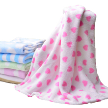 super soft thick Coral Fleece Blanket for baby use