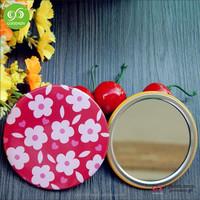 Wholesale personalized cheap small mini hands plastic cosmetic mirror