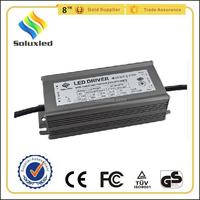 98W Constant Current LED Driver 2100mA PF>0.95 Waterproof IP67 Aluminum Alloy Shell For Outdoor Lighting