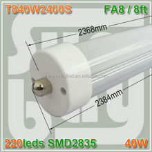 86-265v/ac with 2 pin end caps with dummy starter ping tube 18w tubo 8 T8 LED Tube