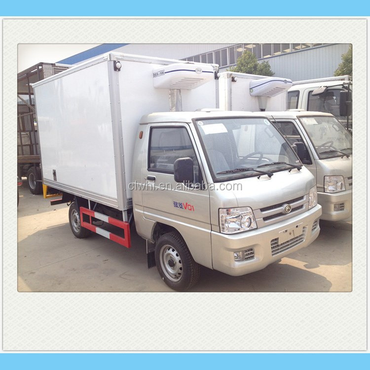 4000kg To 8000kg Foton Refrigerator Car,Refrigerated Truck Sale