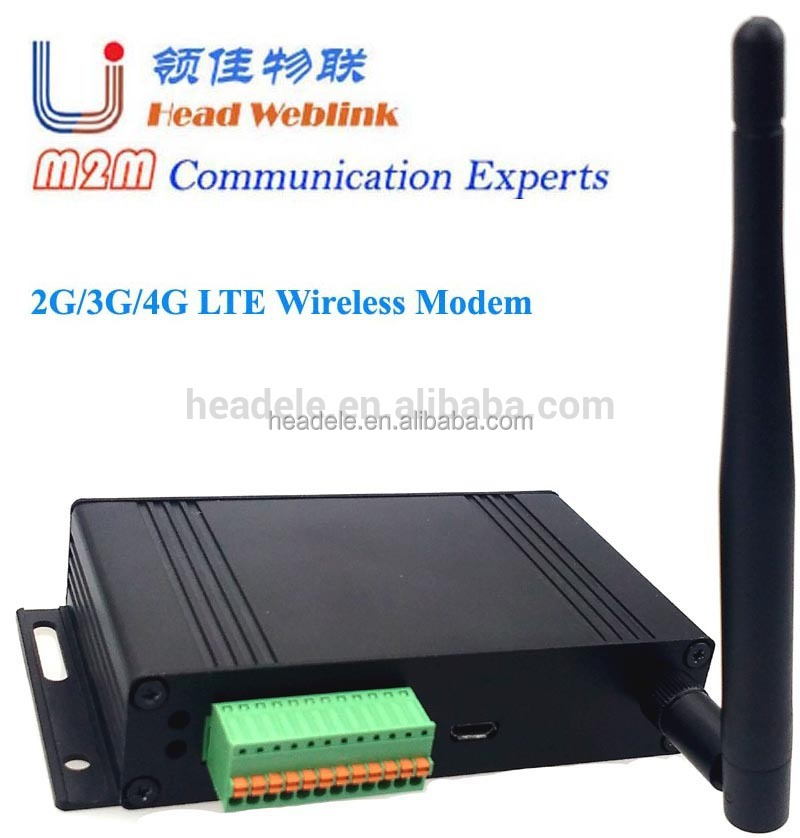 USB/RS232(RS485),GPIOs interface HSPA+/WCDMA wireless modem