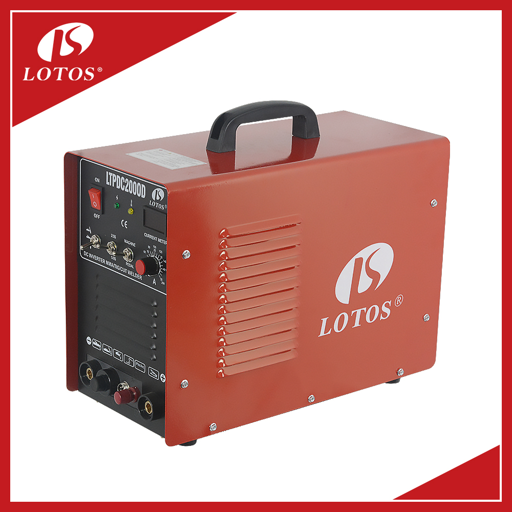 Lotos LTPDC2000D CUT MMA TIG 3 in1 top quality factory price multi function welder