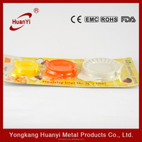 New design food grade plastic dumpling molds for kids (HY2308)