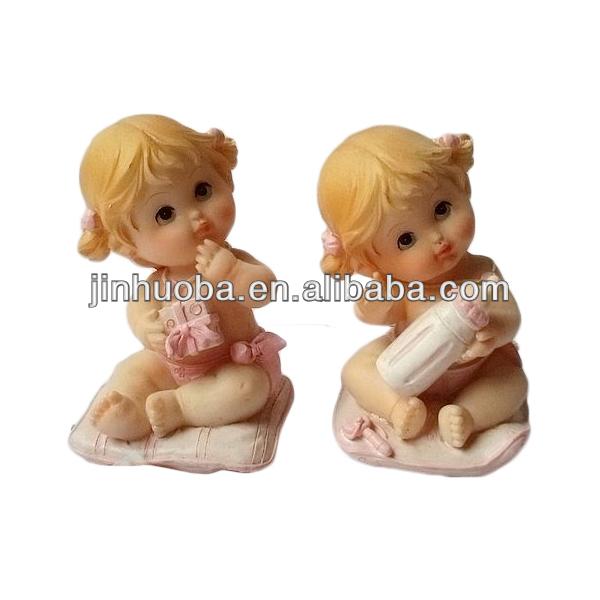 Mais recente artística do bebê conjunto estatueta para venda& estátua baby