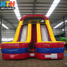 Commercial grade colorful inflatable bouncy slide