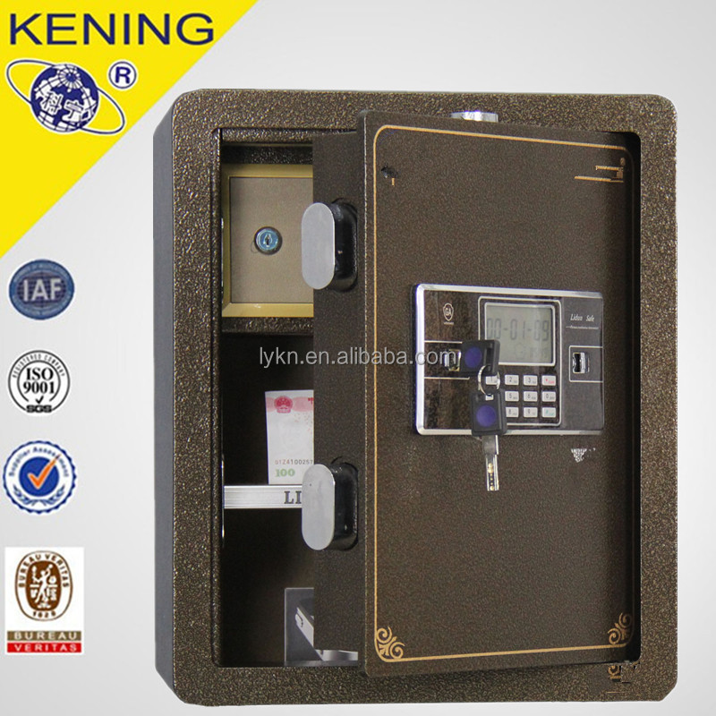 Home storage Alarm Steel mini old safes with best quality
