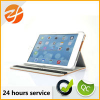 for apple ipad mini 2 stand leather case cover,sublimation leather for ipad mini case