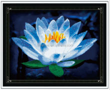 Wholesale chinese embroidery kits flower cross stitch designs