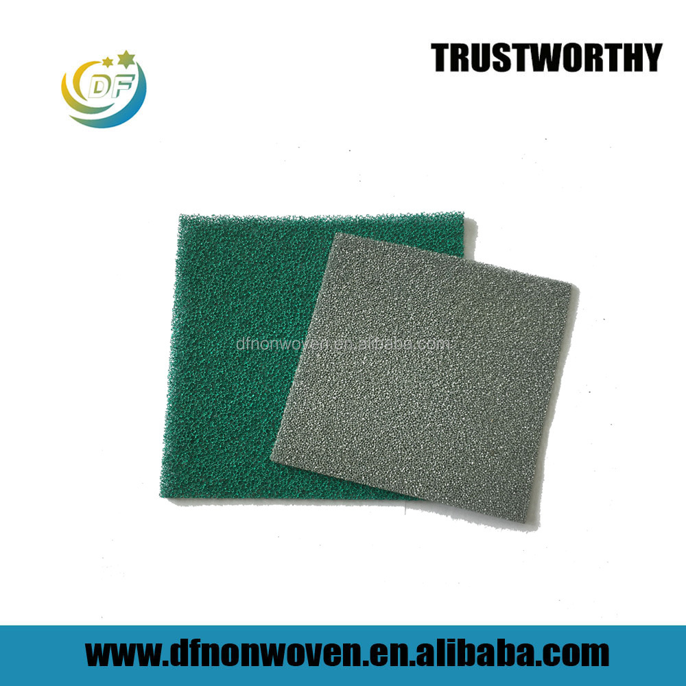 30 ppi reticulated carbon filter foam for hydroponic producter