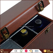 China gold manufacturer Supreme Quality brand wooden wine box