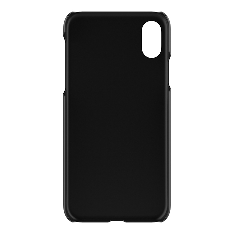 2017 clear plastic cell phone case pc sublimation phone cover for iphone 8