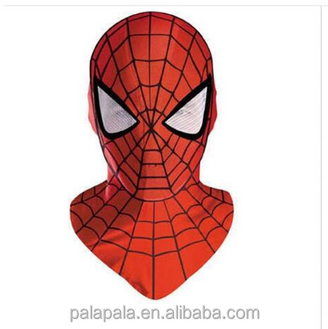 Halloween Cosplay Costume marvel bounce spider man mask for adults or children Full Face Batman Party Mask