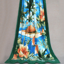 Wholesale Holiday Island super soft cotton beach towels