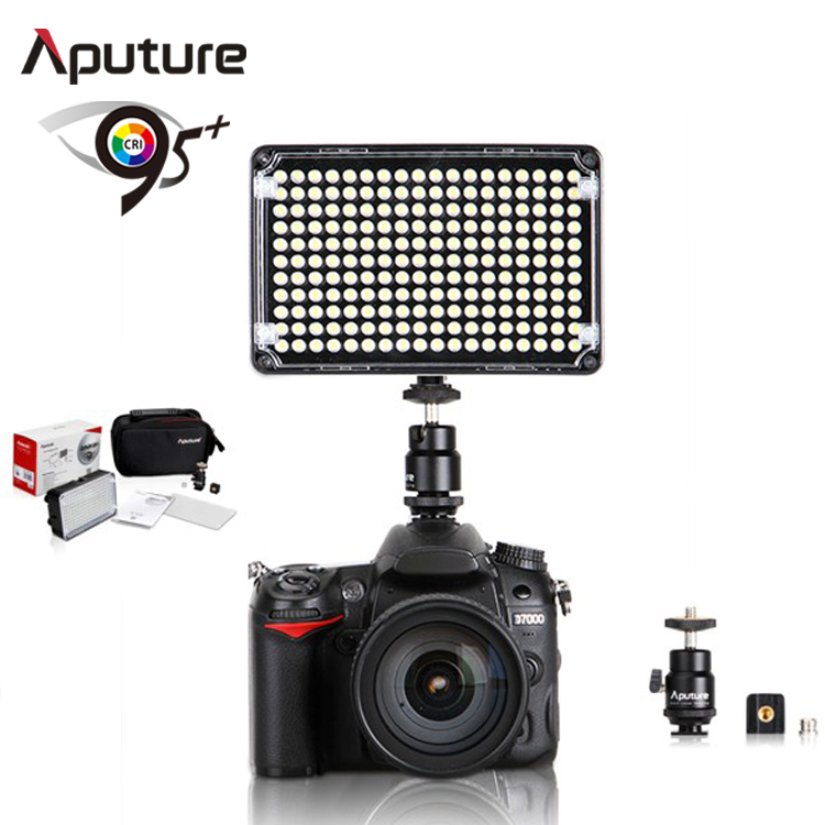Aputure led color changing LED video light photographic lighting for camera DV camcorder