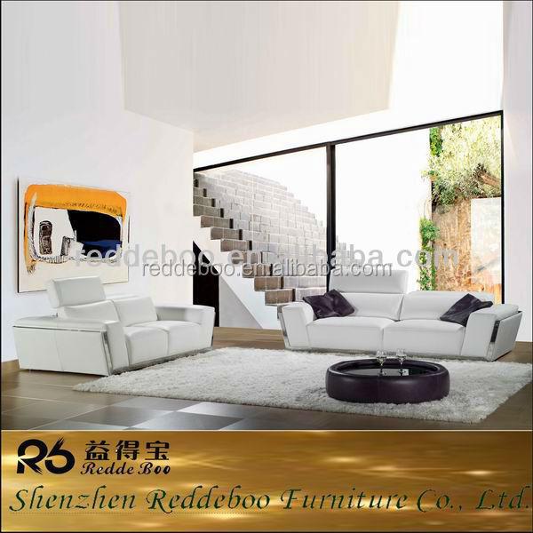 en cuir blanc, Moderne canapés séparée, Marocain canapé à vendre