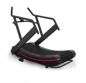 air runner woodway curved treadmill with fast speed treadmill