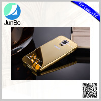 Metal metarial mirror phone case for samsung galaxy s5