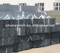 Hollow section carbon black iron mild steel square tube(Q235B,ASTM A36,SS400,S235JR,Q345B,S335JR)
