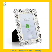 Alloy metal photo frame, metal decoration picture photo frame