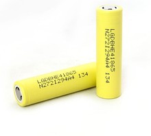 for LG 35ah high discharge battery rechargeable 3.7v li ion 18650 2500mah battery