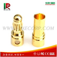 3.5 MM Gold Plated Brass Bullet Banana plug connector for ESC motor RC battery Rc Model