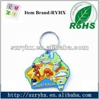 2013 Hot sale new product custom logo engraved keychain