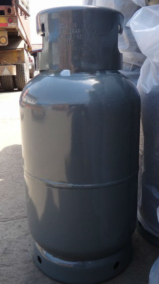 15kg gas container made in China for Middle East / compressed steel lpg gas cylinder for sale